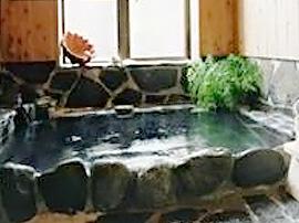 ゆっくり入れる石風呂
